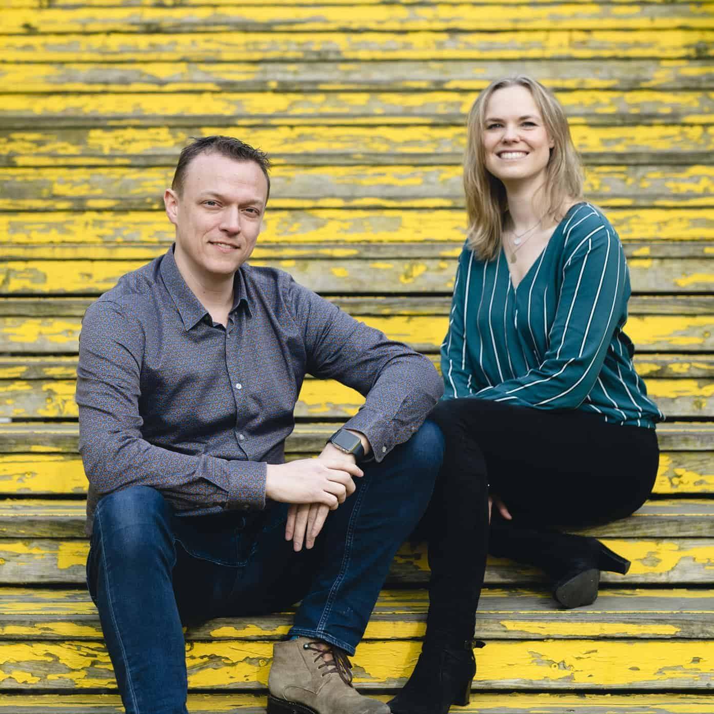 Portret foto Arnoud & Mirjam